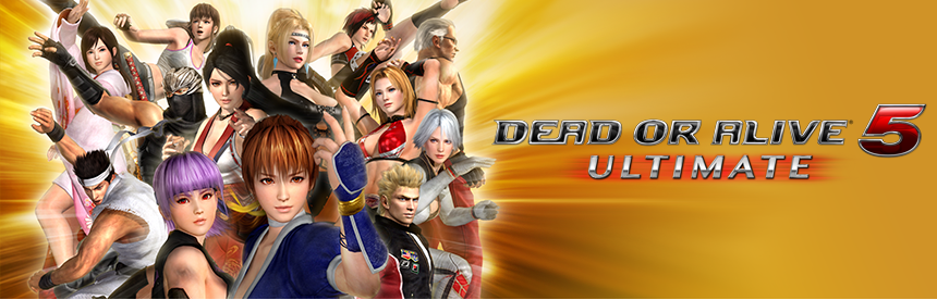 DEAD OR ALIVE 5 Ultimate バナー画像