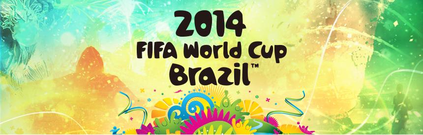 2014 FIFA World Cup Brazil バナー画像