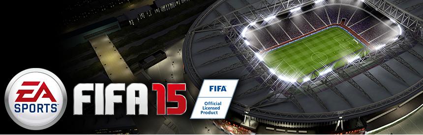 EA BEST HITS FIFA 15 バナー画像