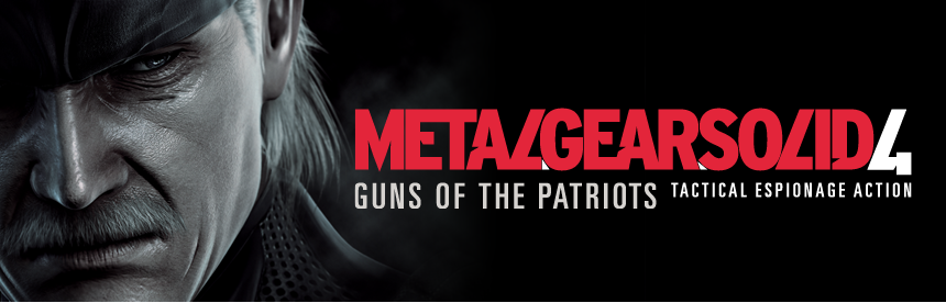 METAL GEAR SOLID 4 GUNS OF THE PATRIOTS PlayStation®3 the Best バナー画像