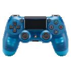 ワイヤレスコントローラー(DUALSHOCK®4) ブルー・クリスタル