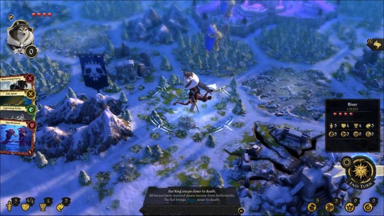 『Armello』ゲーム画面