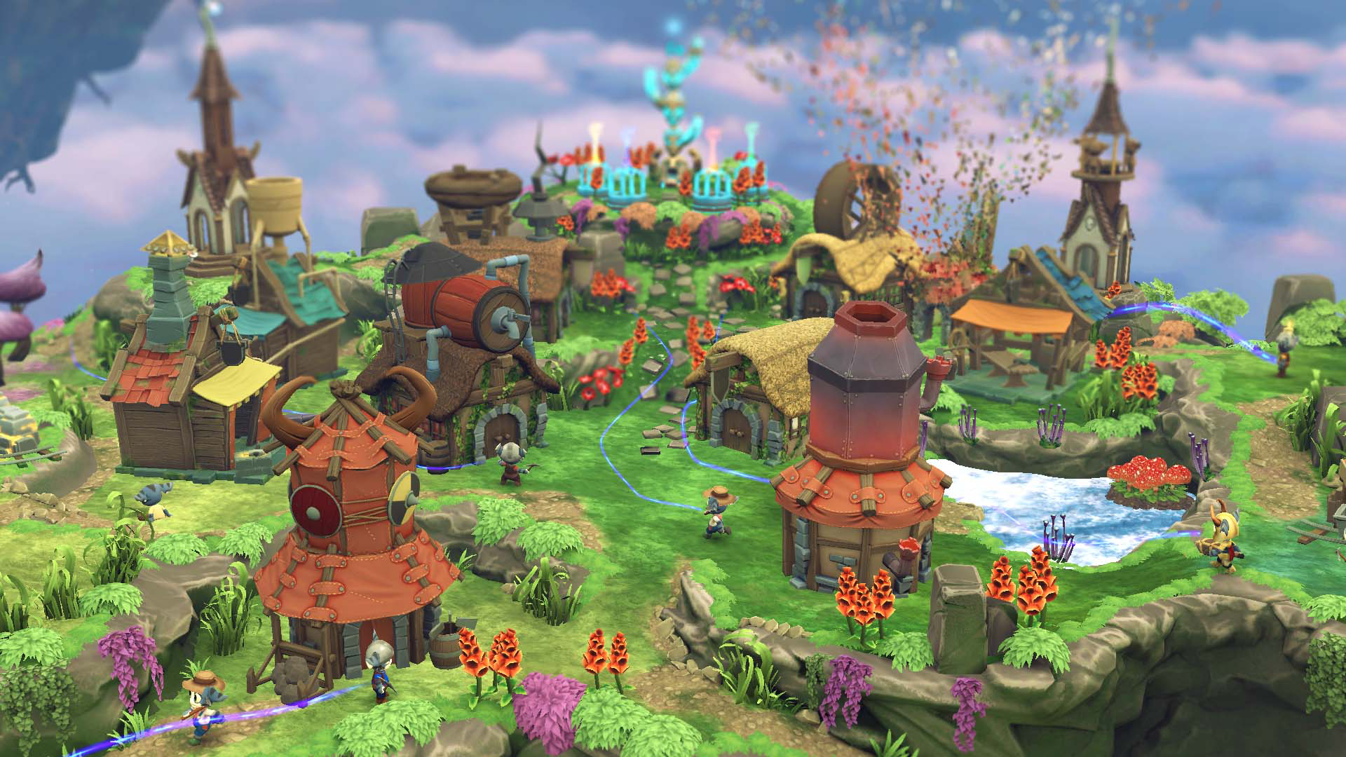 『Tethered』ゲーム画面