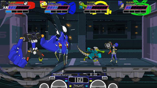 Lethal League ゲーム画面2