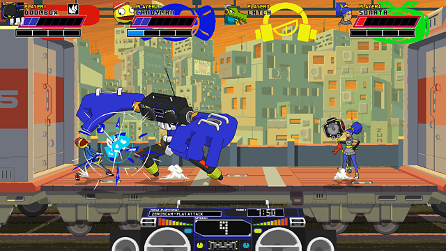 Lethal League ゲーム画面3