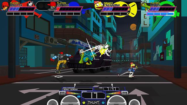 Lethal League ゲーム画面4