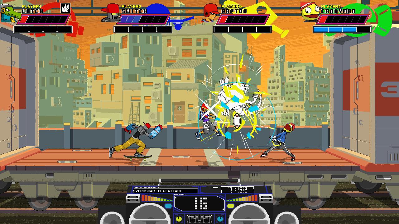『Lethal League』ゲーム画面