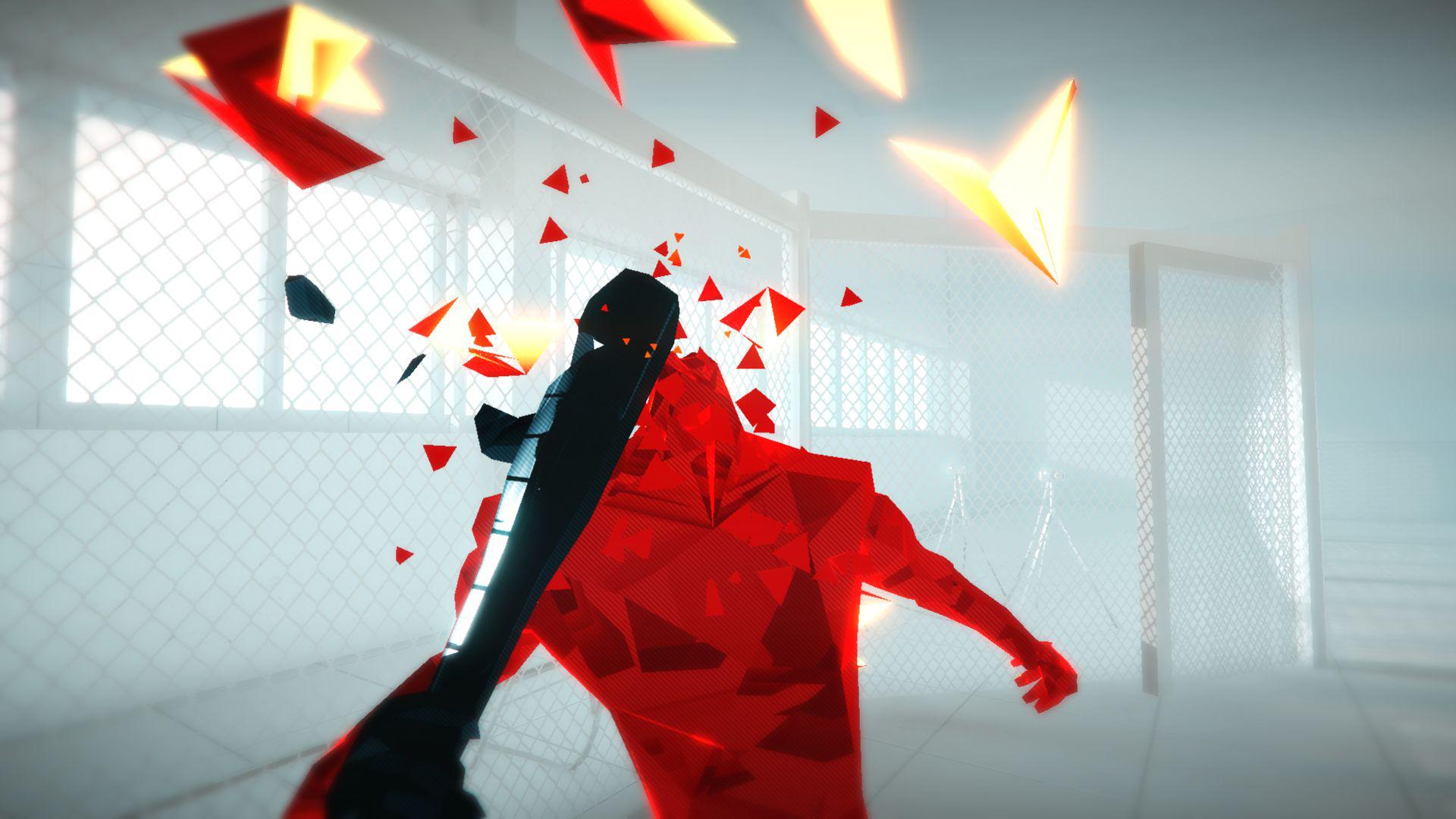 『SUPERHOT』ゲーム画面