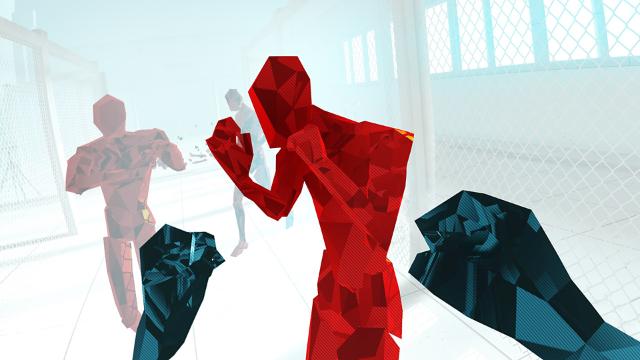 SUPERHOT VR ゲーム画面1