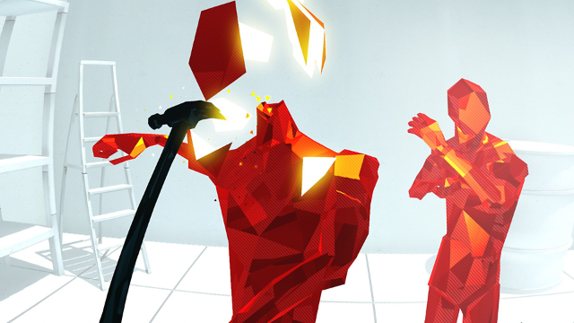 SUPERHOT VR ゲーム画面4