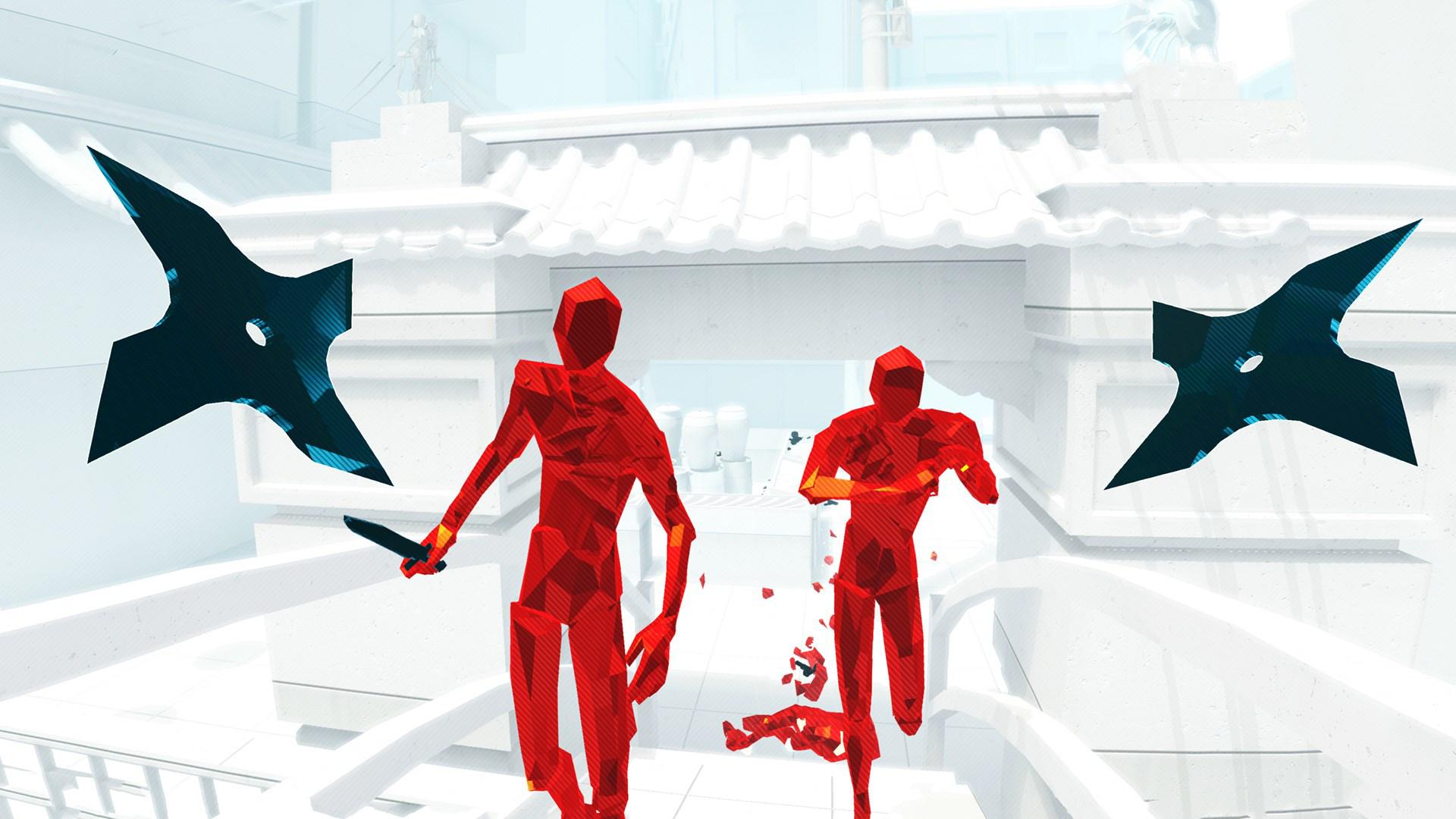 『SUPERHOT VR』ゲーム画面
