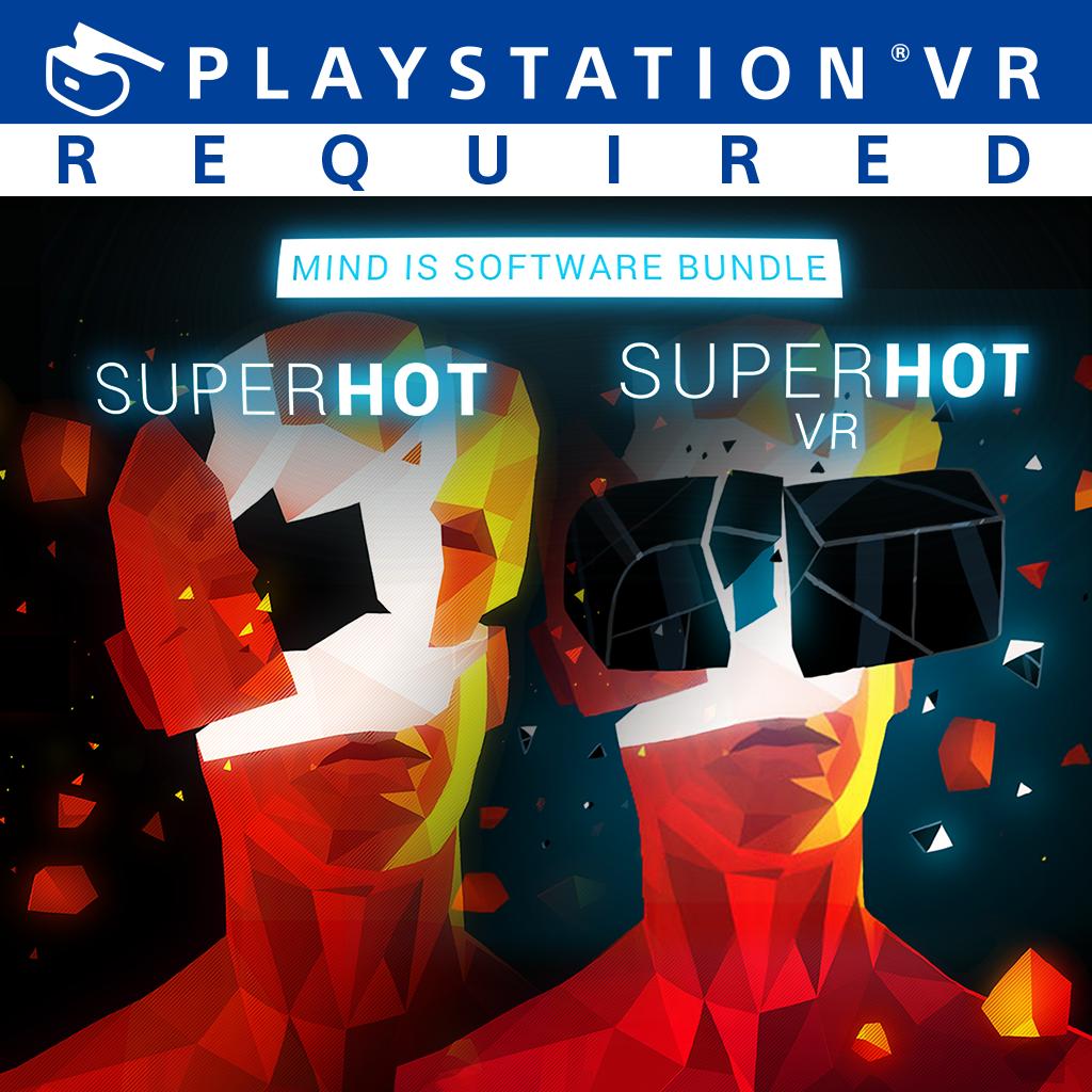 『SUPERHOT MIND IS SOFTWARE BUNDLE』ゲーム画面