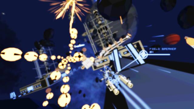 Kromaia Ω ゲーム画面2