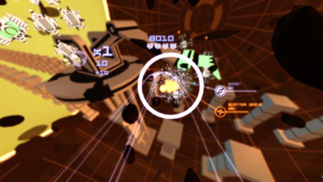 Kromaia Ω ゲーム画面5