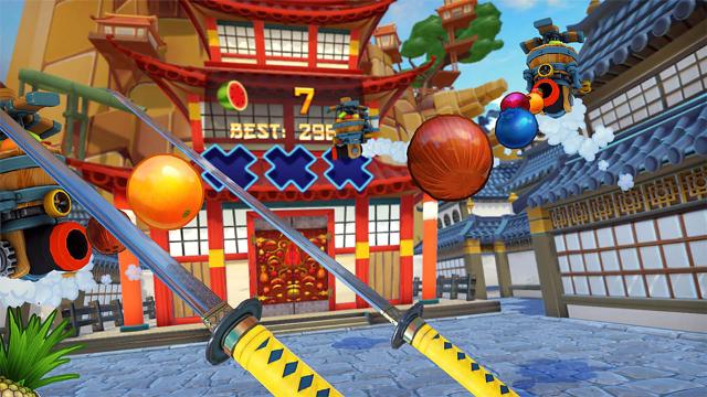Fruit Ninja VR ゲーム画面3
