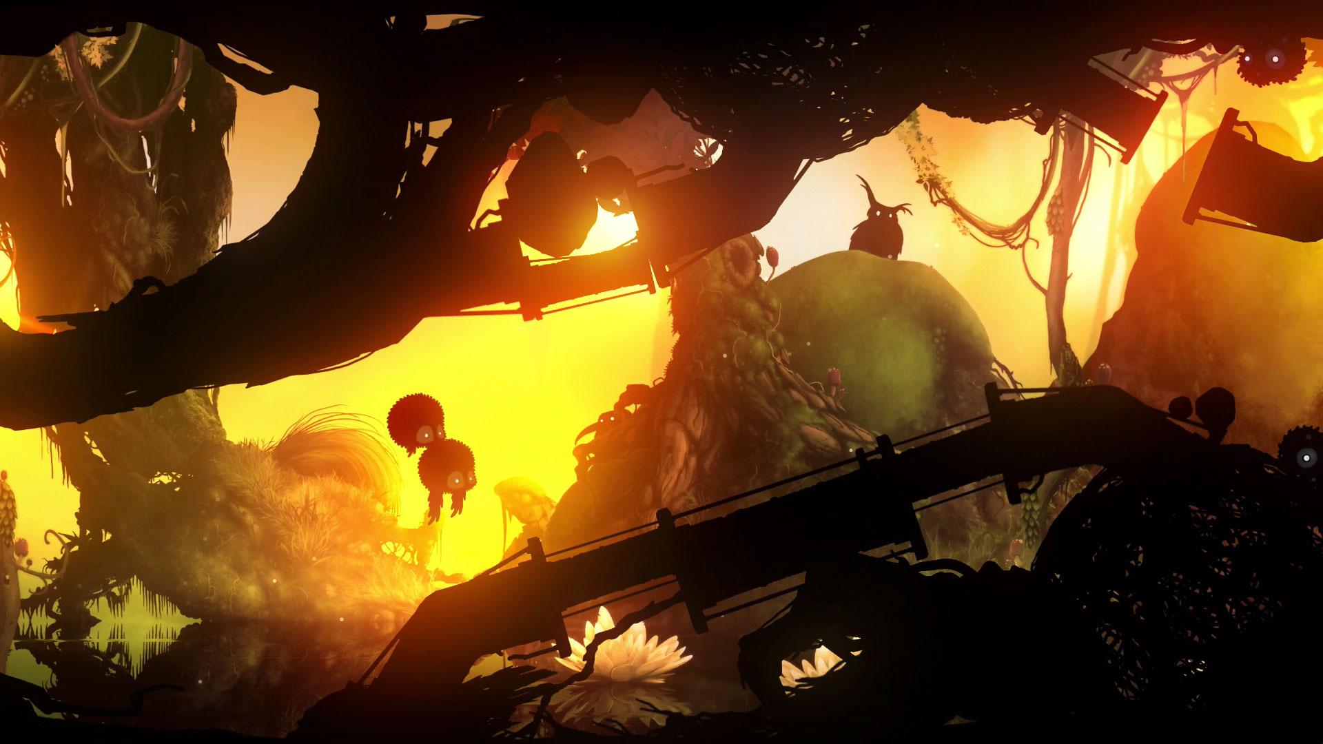 『Badland: Game of the Year Edition』ゲーム画面