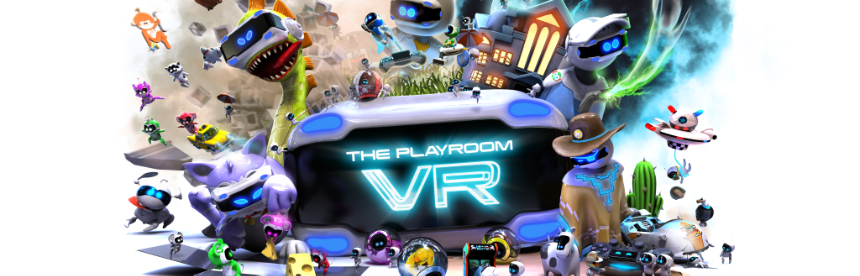 THE PLAYROOM VR バナー画像