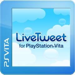 LiveTweet for PlayStation®Vita ジャケット画像