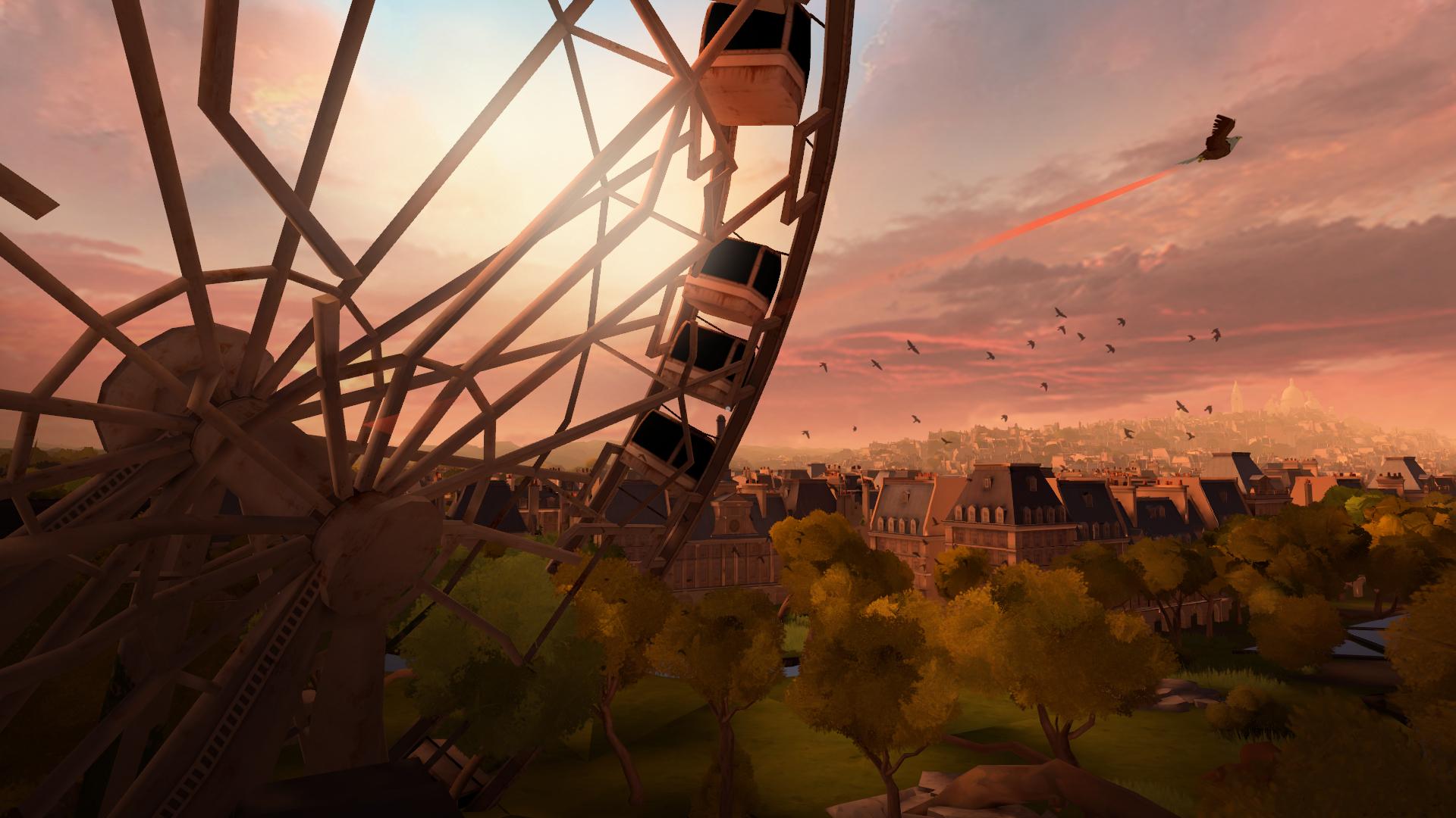 『イーグルフライト』ゲーム画面