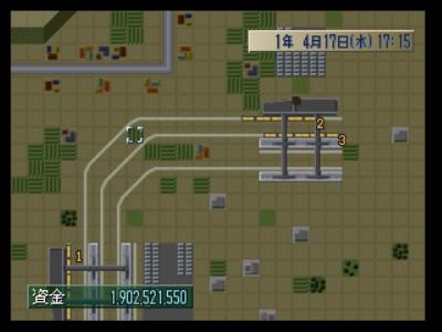 A列車で行こうZ めざせ!大陸横断 ゲーム画面4