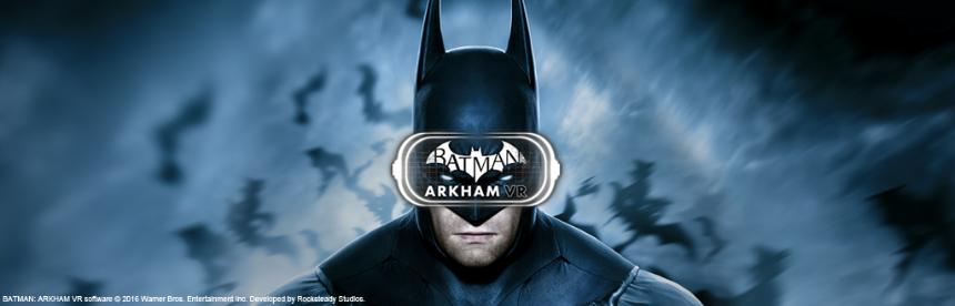 バットマン:アーカム VR バナー画像