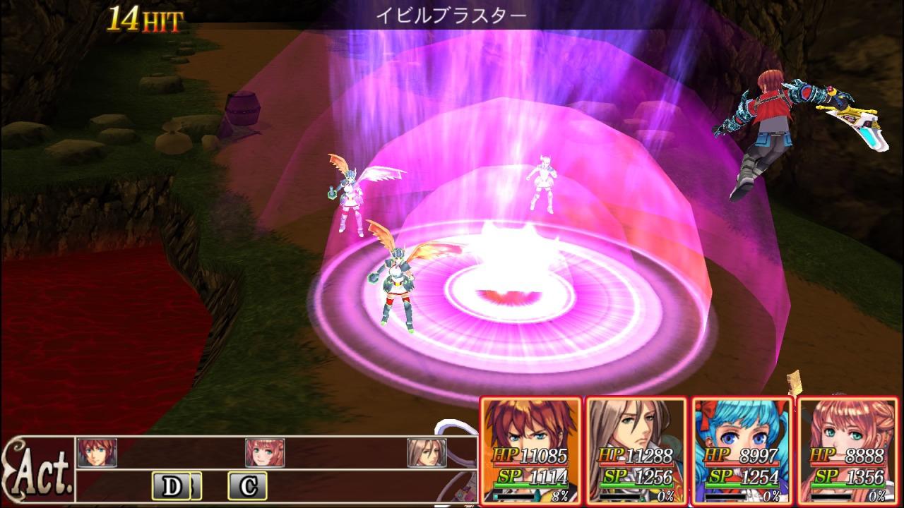 『レヴナントサーガ』ゲーム画面