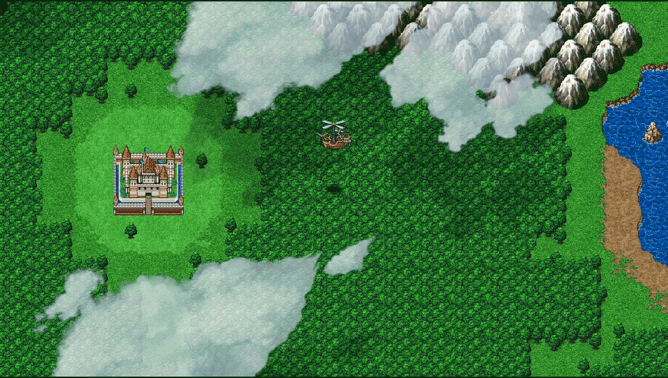 『アスディバインハーツ』ゲーム画面