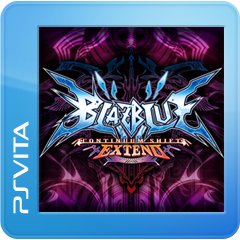 BLAZBLUE CONTINUUM SHIFT EXTEND ジャケット画像