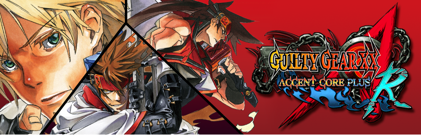 GUILTY GEAR XX ΛCORE PLUS R バナー画像