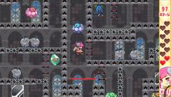 『どぎめぎインリョクちゃん ラブ&ピース』ゲーム画面