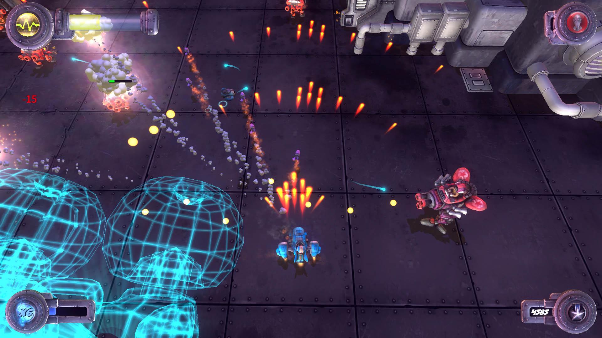 『Blue Rider』ゲーム画面