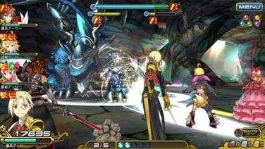 『乖離性ミリオンアーサー』ゲーム画面