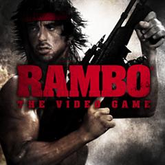RAMBO THE VIDEO GAME ジャケット画像
