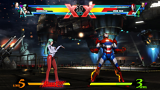 ULTIMATE MARVEL VS. CAPCOM 3 ゲーム画面2