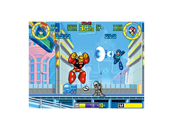 ロックマン パワーバトルファイターズ ゲーム画面1