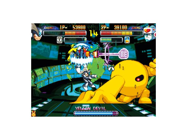 ロックマン パワーバトルファイターズ ゲーム画面2