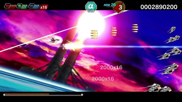 『ダライアスバースト クロニクルセイバーズ』ゲーム画面