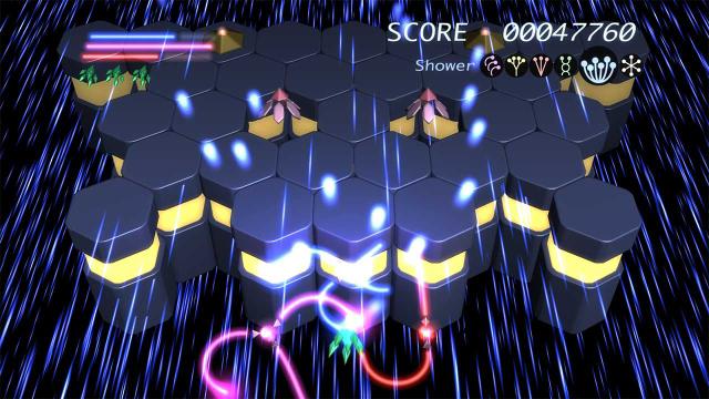 Prismatic Solid ゲーム画面1