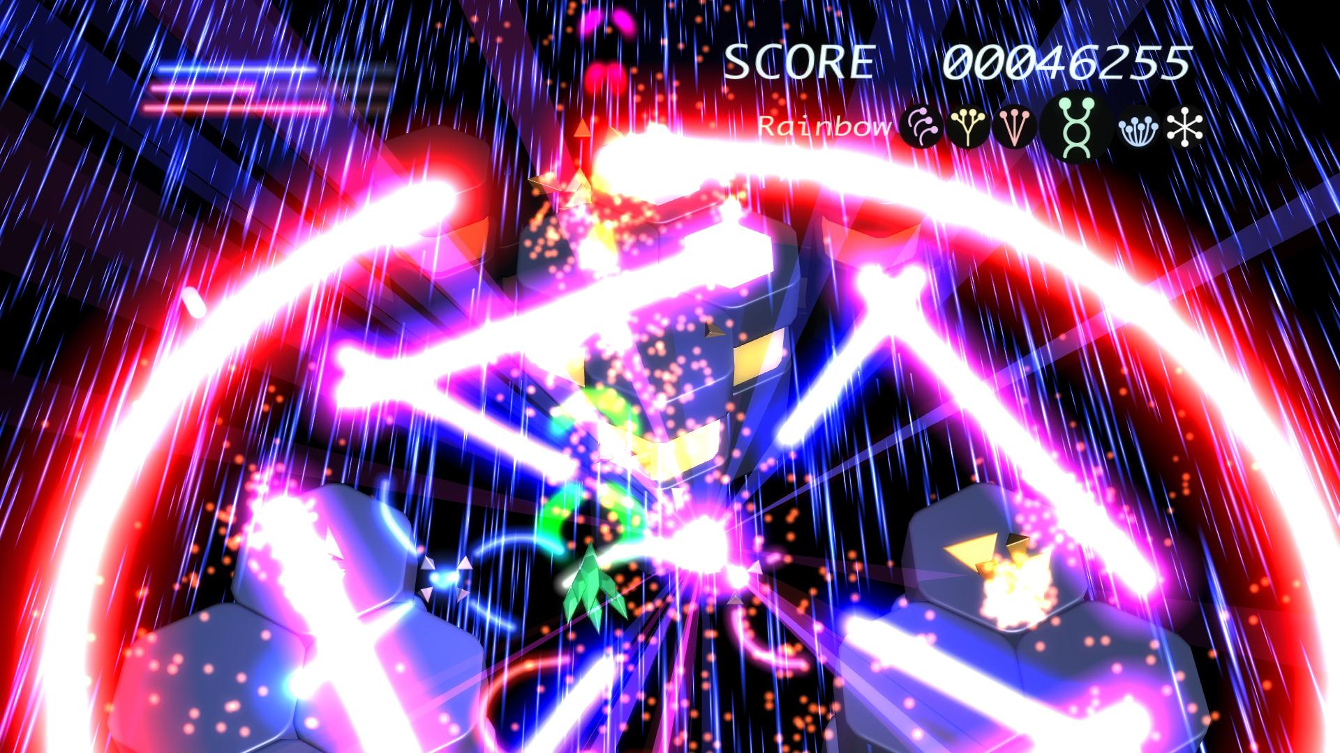 『Prismatic Solid』ゲーム画面