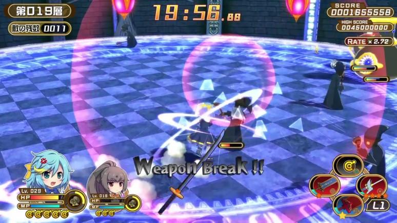 『クロワルール・シグマ』ゲーム画面