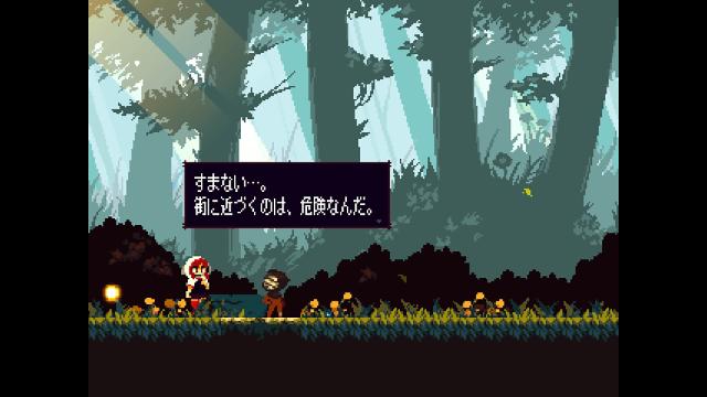 Momodora: 月下のレクイエム ゲーム画面2