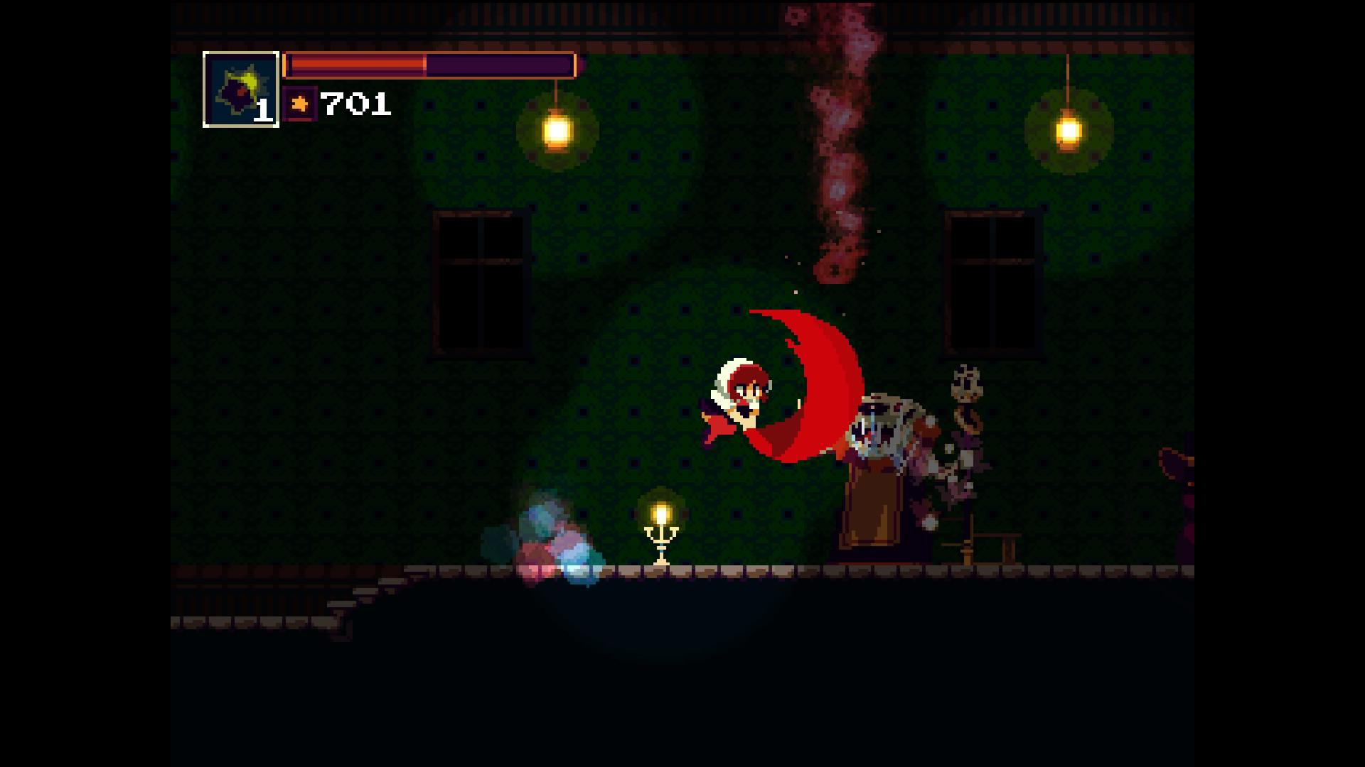 『Momodora: 月下のレクイエム』ゲーム画面