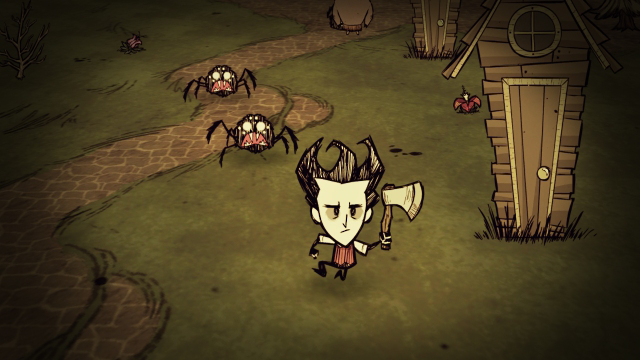 Don't Starve: Console Edition ゲーム画面1