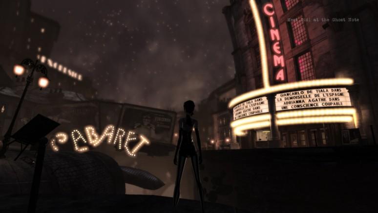 『Contrast』ゲーム画面