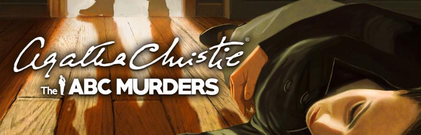 アガサ・クリスティ - ABC殺人事件 バナー画像