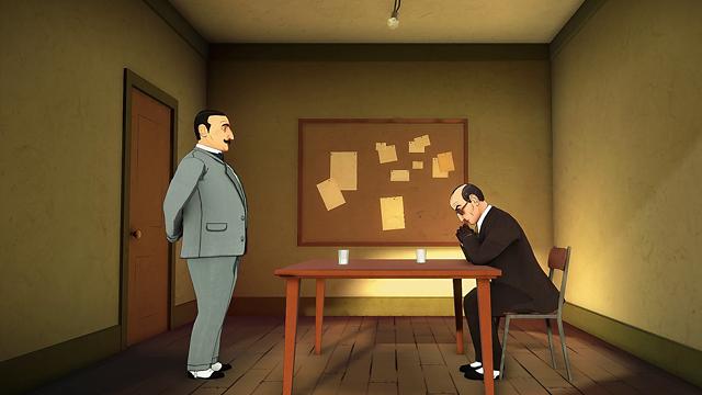 アガサ・クリスティ - ABC殺人事件 ゲーム画面2