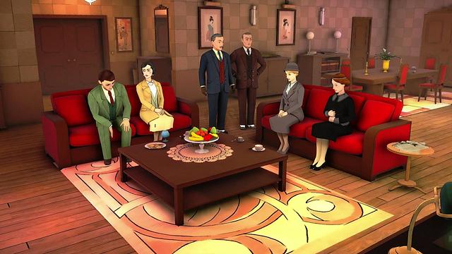 アガサ・クリスティ - ABC殺人事件 ゲーム画面1