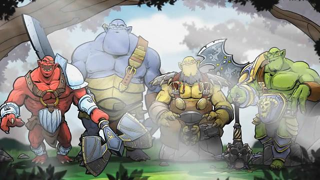 Orc Attack ゲーム画面2