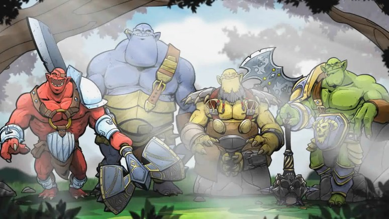 『Orc Attack』ゲーム画面
