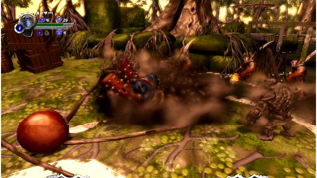 Orc Attack ゲーム画面3